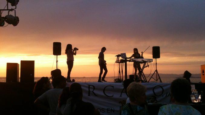 Konzert am Strand
