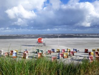 Die Strände auf Langeoog