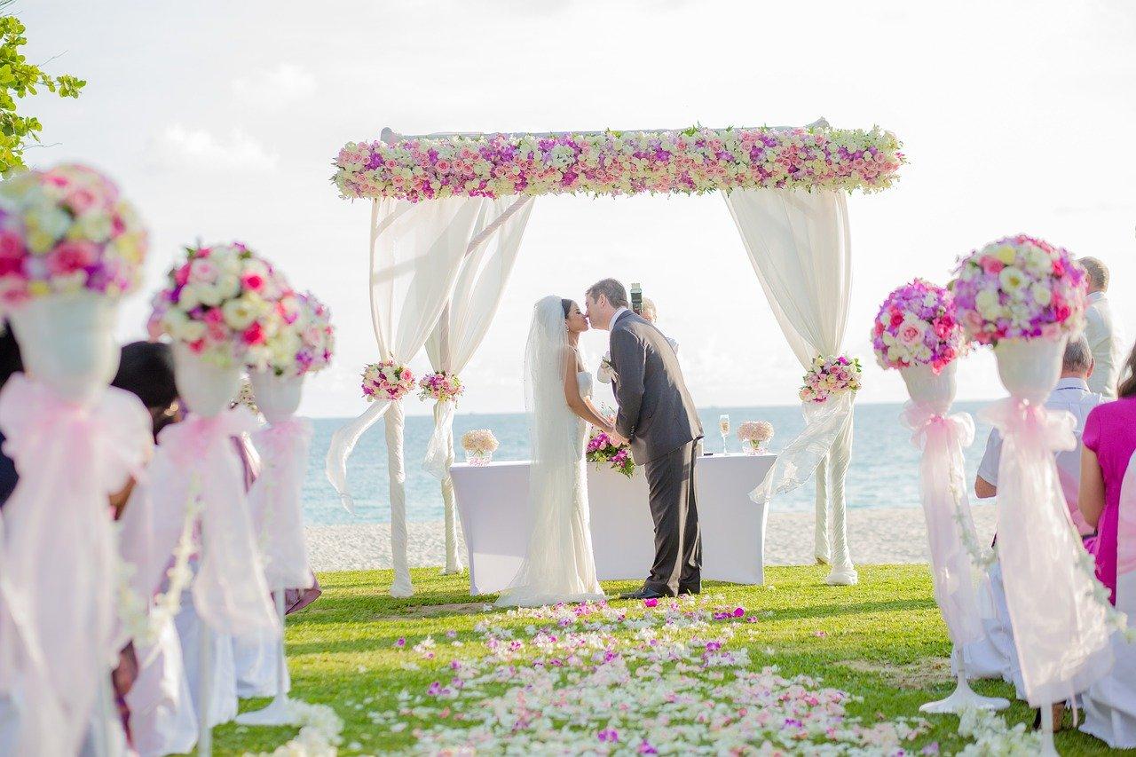 Traumhochzeit im Wattenmeer: Heiraten auf der Nordseeinsel