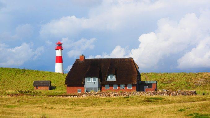 Die Ortschaften der Nordseeinsel Sylt