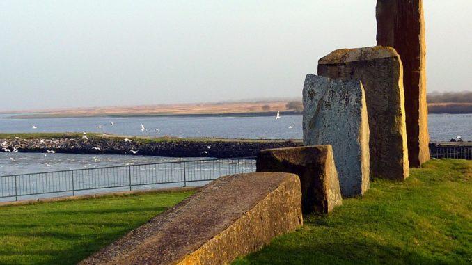 Monument auf Nordstrand