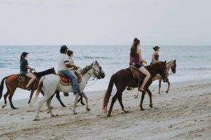 Reiten am Strand