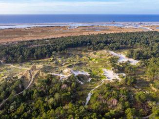 Die Strand- und Dünenlebensräume zeigen eine große Lebensraumvielfalt und unterliegen in großen Teilen noch der natürlichen Küstendynamik. (Foto: Martin Stock/WWF)